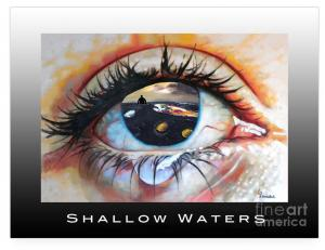 Alameda Artist Linda Weinstocks Rendering Of Shallow Water