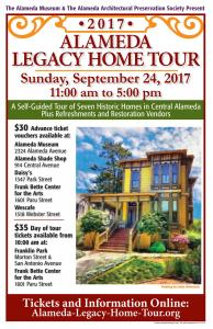 Accomplished Artist Linda Weinstock Featured On The Posters And Guidebooks For The 2017 Alameda Legacy Home Tour