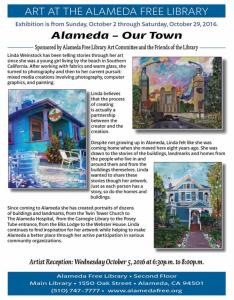 Alameda Our Town  Artwork By Linda Weinstock